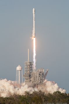 Falcon 9 SES-10 launch from LC-39A | In short, SpaceX did something today that has not been done since the first rockets ventured into the black of space at the start of the Space Age.