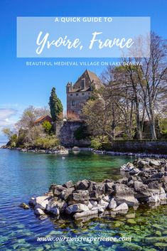 A boat trip to France: visiting Yvoire - Our Swiss experience Road Trip Europe, Europe Travel Tips, Traveling Tips, Lyon, Best Places To Travel, Places To Visit, Boating Holidays, Family World, Medieval Town