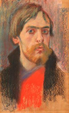 Stanisław Wyspiański, Autoportret  |  1894, pastel, papier, Muzeum Narodowe w Poznaniu