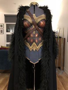 The cloak was made by me.