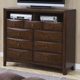 Found it at Wayfair - Hillary 9 Drawer TV Dresser