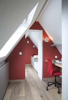 Idee voor een kleine zolder