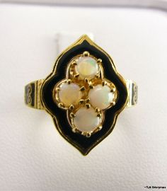 Antique Opal Ring. fashion love upright vacuum
