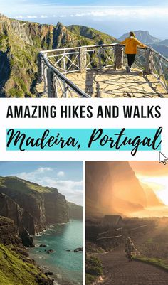 Madeira is filled with beautiful hikes and walks for all types of travelers. Check our complete mountain travel guide to the best hikes and walks in this Portuguese island! Madeira island is a dream destination in Portugal I Hikes and Walks in Madeira I Travel Guide I Travel Tips for Madeira Portugal I Mountain Travel Portugal I Wanderlust Inspiration I Madeira Itinerary I Mountain Travel Guide I Wanderlust Mountain Inspiration #Madeira #Portugal #travelguide #hikingguide #wanderlust Travelling Europe, Road Trip Europe, Backpacking Europe, Europe Travel Guide, Travel Abroad, Travel Destinations, Travel Ideas, Travel Photos, Travel Inspiration