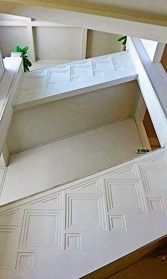 Hoffmann's atriumlike stairway creates a gracious vertical circulation. Vienna Secession, Stairways, Art Decor, Home Decor, Designer, Art Nouveau, Interiors, Interior Design, Architecture