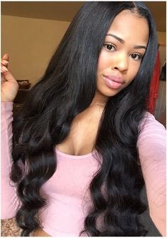 Black Wave Lace Front Wigs 26 Inch Frontal – Shebelt mall