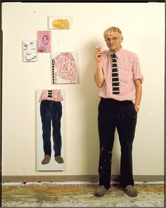 David Hockney, 1986. He painted my favorite owned Santa Fe print,