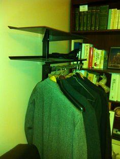 Coat rack detail