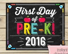 first day of school sign – Etsy