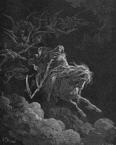 La Mort (vision de Saint Jean), illustré par Gustave Doré