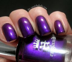 a england Avalon purple nail polish