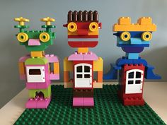 Lego Activities, Craft Activities For Kids, Toddler Activities, Crafts For Kids, Lego Robot, Lego Mecha, Manual Lego, Lego Therapy, Figurine Lego