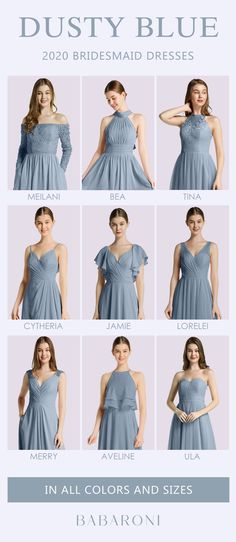 Sku: Hundreds Available Price: Under $99.00 Color: Dusty Blue Size: All Sizes Available These are stunning full-length chiffon gowns made of great quality. #babaroni #bigsale #2020wedding #weddinginspiration #wedding #wedding #weddings #weddings #weddingdress #weddingdresses #bridalgown #bridesmaid #bridesmaiddress #bridesmaidgown #bridesmaidgowns#bridesmaiddrsses #chiffondress #longdress #dreamdress #longgown#dustybluecolor