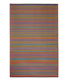 Take a look at this Coffee Cancun Indoor/Outdoor Rug by Fab Habitat on #zulily today!