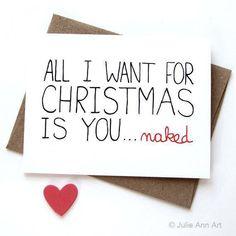 Naughty christmas, funny christmas cards и christmas humor. Naughty Christmas, Christmas Couple, Funny Christmas Cards, Noel Christmas, Christmas Quotes, Xmas Cards, All Things Christmas, Christmas Humor, Holiday Cards