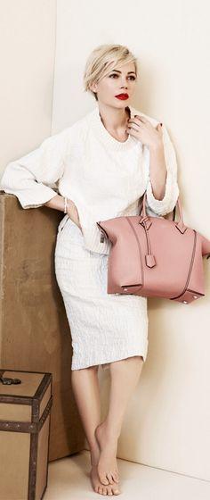 Michelle Williams's Spring 2014 Louis Vuitton Handbag Campaign.