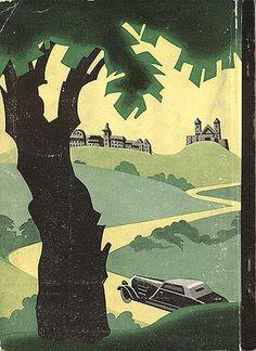 """Travel booklet """"Nach Wien im Auto,"""" 1935. Published by Der Fremdenverkehrskommission der Bundesländer Wien und Niederösterreich."""