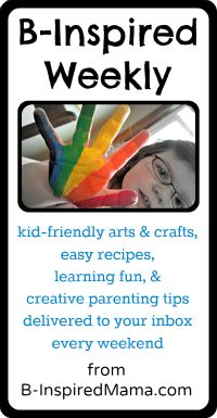 B.Inspired, Mama!: Great crafts and projects for kids!