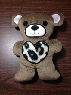 A personal favorite from my Etsy shop https://www.etsy.com/listing/223693833/personalized-stuffed-teddy-bear