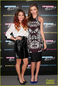 Vanessa Hudgens  with Miranda Kerr!