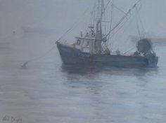 Ghost Ships by Kathleen Dunphy Oil ~ 12 x 16 $2500