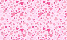 artistic heart and flower patterns | lovely pattern of pink hearts for a more stunning design.