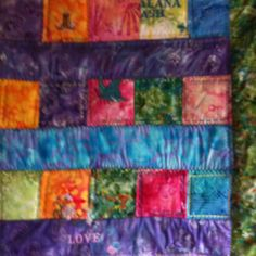 Baby Quilt made for Alana