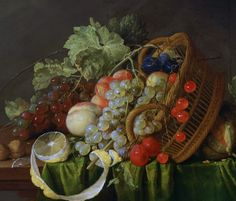 Cornelis de Heem by Still Life with a Basket of Fruit is in the collecion of the National Museum of Western Art, Tokyo. Still Life 2, Still Life Fruit, Be Still, Google Art Project, Food Painting, Fruit Of The Spirit, Memento Mori, Western Art, Still Life Photography