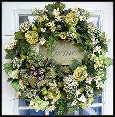Wreaths: Decorative Door Wreaths, Luxury Christmas Wreaths - Luxury Spring Wreaths - Maplesville, AL