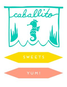 caballito sweets - branding for @Brynne Ziontz