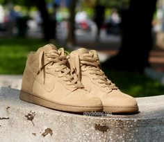 Nike Dunk High x A.P.C Detailed Pictures