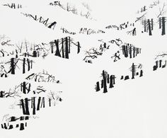 Sin título,  2011, acrílico sobre tela, 160 x 195 cm  Elena Nieves.
