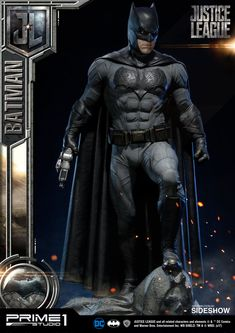 The Exclusive Batman Statue by Prime 1 Studio is available at Sideshow.com for fans of DC Comics, Justice League and Ben Affleck.