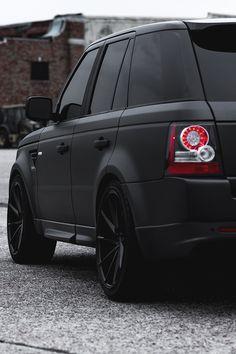 """motivationsforlife: """"Range Rover by Vossen Wheels"""""""