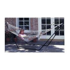Texsport High Island Rope Hammock with Steel Stand Combo Outdoor Swing NEW Garden Hammock, Rope Hammock, Hammock Chair, Hammock Stand, Chair Cushions, Camping Furniture, Garden Furniture, Outdoor Furniture, Outdoor Decor