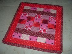 http://www.ebay.com/itm/Handmade-Finished-Mini-Doll-Quilt-Scrappy-Pink-Red-Valentine-/300659604273?pt=Quilts&hash=item4600b57b31