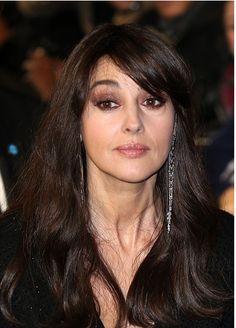 Monica Bellucci attends the '007 Spectre' Paris Premiere at Le Grand Rex on October 29, 2015 in Paris, France.