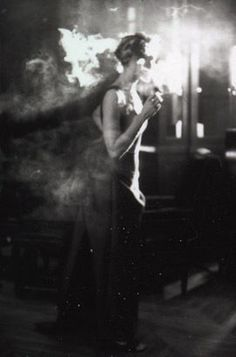 Pamela Hanson, Smoker, Paris, Spanish Vogue