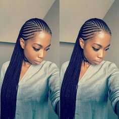 Have you been swooning over the hottest hairstyle of 2017 – Alicia Keys braids? We've compiled our top ideas for styling your cornrows.Cornrows have been around for many years now and are one of the most popular protective styles sported by African women. Black Girl Braids, Braids For Black Hair, Girls Braids, Kid Braids, Box Braids Hairstyles, African Hairstyles, Hairstyles 2018, Wedding Hairstyles, Hairdos