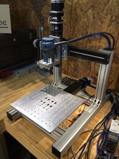 The KR33 mini CNC is ready to make chips.: