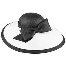 Buy the Whiteley Hats Marilyn Straw Occasion Hat - Black-White at Village Hats. The destination for hats and caps online. Black And White Hats, Occasion Hats, Wedding Hats, Hat Shop, Caps Hats, Crochet, Accessories, Shopping, Style