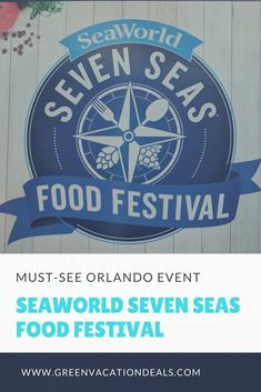 Things To Do in Orlando Florida for Adults - the Seven Seas Food Festival at SeaWorld Orlando! Find out the 3 reasons why won't want to miss this Orlando event (hint: there are some amazing drinks available!). Fun food & drink event at Orlando theme park. #OrlandoVacation #Orlando #VacationFlorida #SeaWorldOrlando #SeaWorld #SevenSeasFoodFest #SevenSeasFoodFestival #Foodies