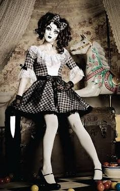 creepy doll costume dress - Google Search