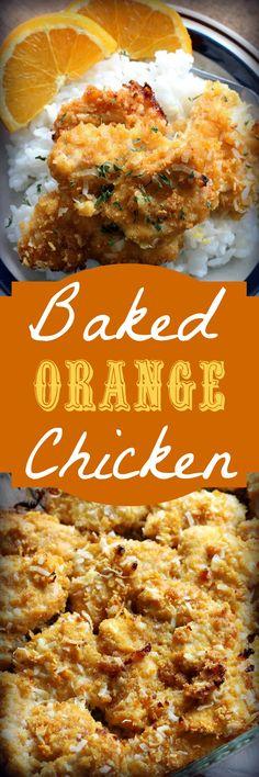 Baked Orange Chicken , Recipe Treasures