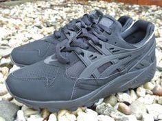 H5B0Y-9090 Asics Gel-Kayano Trainer Black/Black