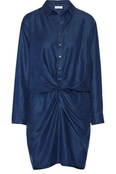 Shop now: MiH Jeans chambray knot dress