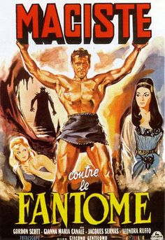 Movie Poster Mondays - Goliath and the Vampires