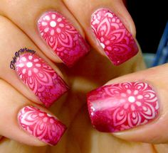 Fade to Pink Floral
