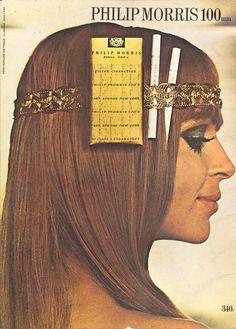 Cigarettes Philip Morris 100mm - Réalités, septembre 1969