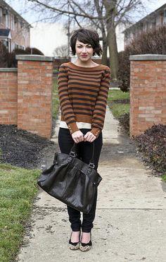 Brown & Black + Stripes featuring member @Emerald